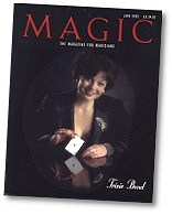 Read Article from Magic Magazine